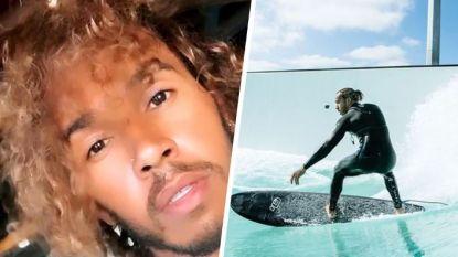 Niet langer vermist, maar gespot in surfoord op Bali: met Lewis Hamilton gaat ook in quarantaine alles goed