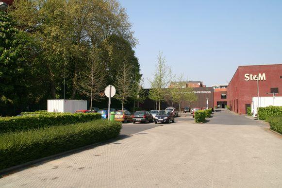 Zwijgershoek in Sint-Niklaas, waar één van de twee parkeergebouwen zou komen. Een beslissing hierover is uitgesteld.