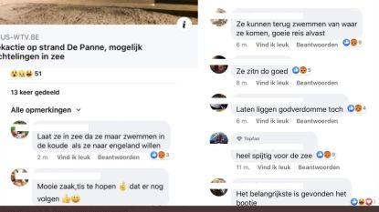Parket opent onderzoek naar racistische commentaren op sociale media na kapseizen van bootje met vluchtelingen