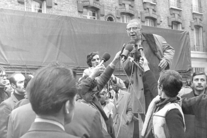 Jean Paul Sartre. Foto:AP - 000066LR