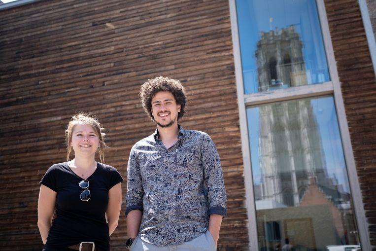 Lize Geeraerts en Jasper Benn zijn de nieuwe voorzitter en ondervoorzitter van Dijlefeesten in Mechelen