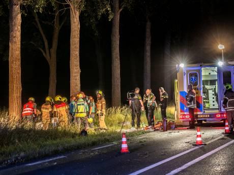 Automobilist komt om het leven bij ongeluk op N214
