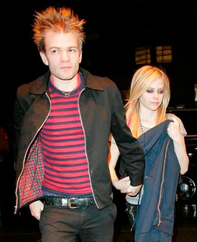 Whibley in betere tijden met Avril Lavigne