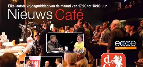 Wethouder, pastoor, huisarts en restaurantbaas bij Nieuwscafé in De Weijer