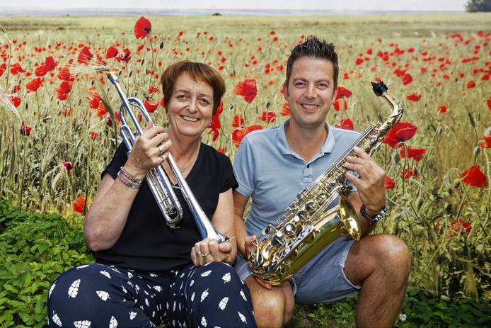 Henriette Smulders uit Boxtel en Maarten Termeer uit Liempde zijn de initiatiefnemers van Brass 'n Woods, een blaasmuziekfestival dat najaar 2020 voor het eerst plaats heeft in Liempde.