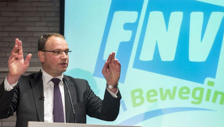 FNV-voorzitter Ton Heerts Beeld anp