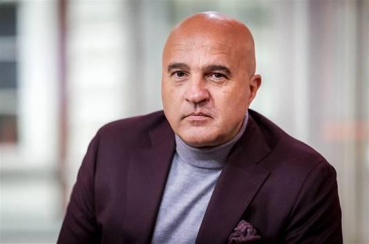 Misdaadverslaggever John van den Heuvel.