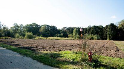 Cyclocrossparcours op domein De Merel