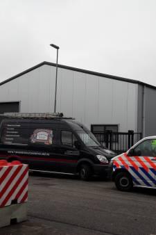 Twee personen met wapens opgepakt bij grote controle bedrijventerrein Smokkelhoek in Kapelle