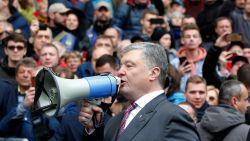 """President excuseert zich voor gemaakte fouten: """"Oekraïne dreigt failliet te gaan"""""""