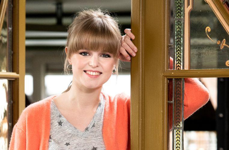 Elise speelt al zes jaar de rol van Emma in 'Thuis'.