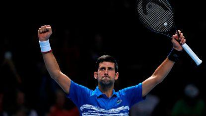 ATP Finals: Djokovic verliest punt van de match, maar klopt Berrettini - Thiem pakt scalp Federer