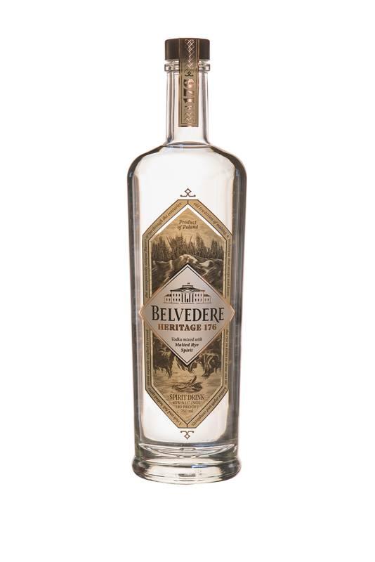 Belvedere - Heritage 176 - Une expression innovante qui lui donne un goût et un caractère riches. - Prix conseillé: 48 euros.