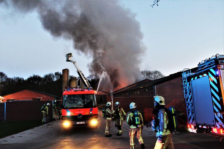 De oorzaak van de brand is kortsluiting in een ventilatiesysteem.