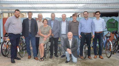 Sint-Jorisschool bedankt Leo's en Lions voor fietsenstallingen