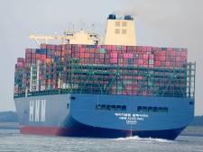 Testen met meer diepgang in Westerschelde: voor een containerreus maakt 44 centimeter veel verschil