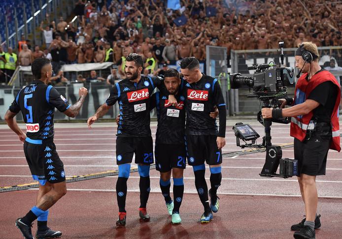 Napoli won eerder dit seizoen met 1-2 bij Lazio.