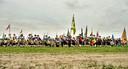 Massale opmars tijdens een gildefeest in Etten-Leur.