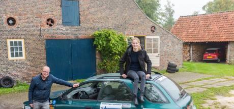 Vader en dochter uit Sint-Oedenrode gaan in een 'barrel' op weg naar de Noordkaap