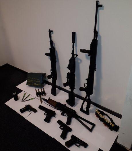 Onderzoek naar illegale wapens en munitie in Winterswijk