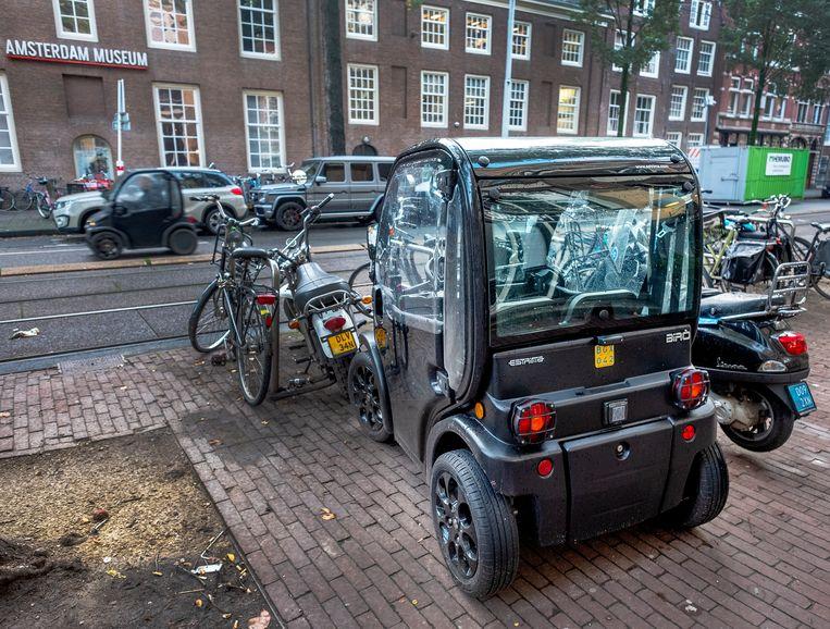 De Biro moet in Amsterdam ook betaald parkeren. Beeld Patrick Post