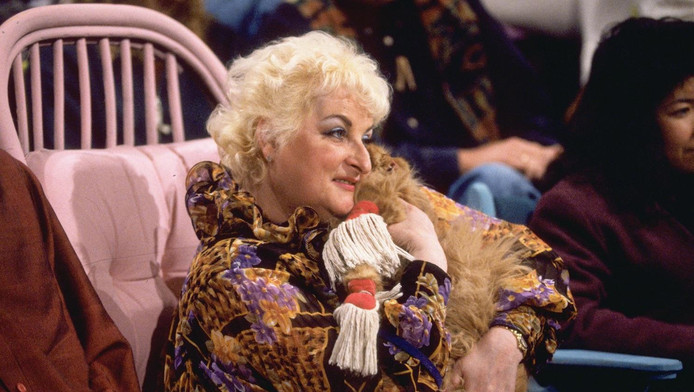 Miep Brons op archiefbeeld uit 1996