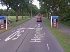 Bekeuring voor hardrijders op Harderwijkerweg bij Hulshorst