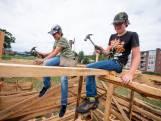 Leren zagen, bouwen en samenwerken bij Huttenland Almelo