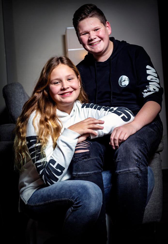 Merel en Yoran hebben een vader die lijdt aan MS.