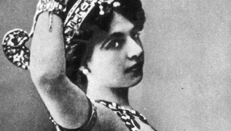 Margaretha Zelle, beter bekend als Mata Hari. Beeld null