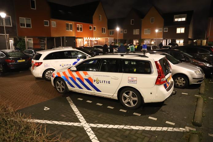 De inbrekers probeerden nog te vluchten na de poging tot inbraak op de Van Essendijk