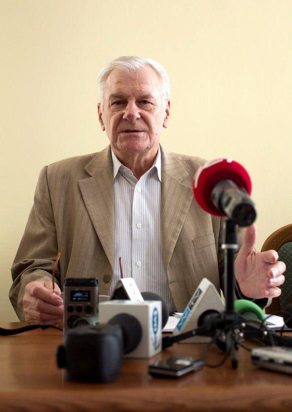Vice-burgemeester Zygmunt Nowaczyk.
