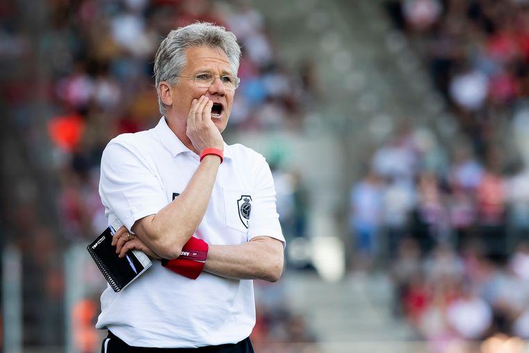 Antwerp-coach Laszlo Bölöni.