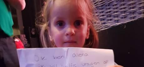 Zieke Alena (4) doet hartverwarmende oproep aan K3