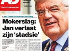 AD Utrechts Nieuwsblad pakt uit met vertrek Jan van Zanen