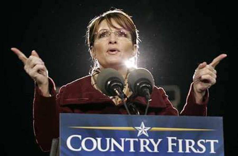 Sarah Palin Foto AP/Steve Helber Beeld