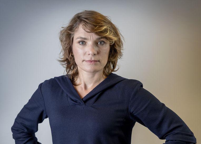 Politicologe Liza Mügge leidt de taskforce sociale veiligheid aan de Universiteit van Amsterdam. Beeld Patrick Post