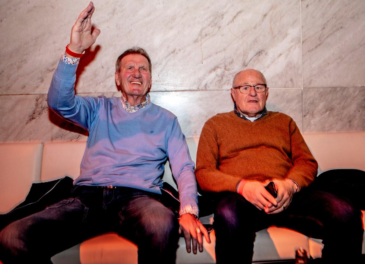 Rinus Israël (rechts) en Lex Schoenmaker.