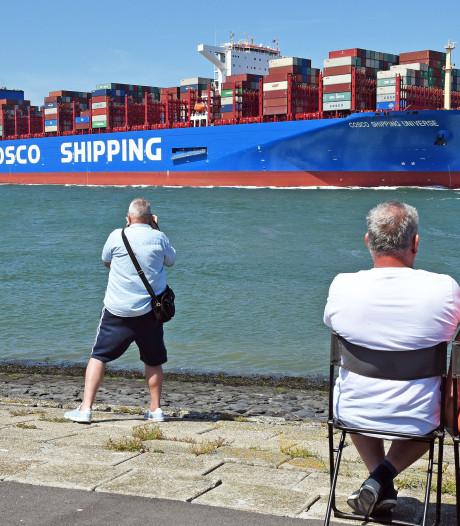 Chinese groeicijfers havens Vlissingen en Antwerpen