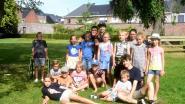 Kinderen genieten in de tuin van het Baljuwhuis