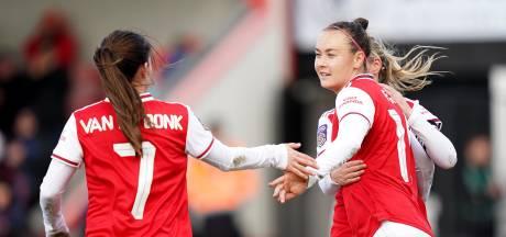 Miedema, Roord en Van de Donk met Arsenal door in FA Cup