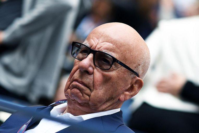 Rupert Murdoch van 21th Century Fox. Beeld afp