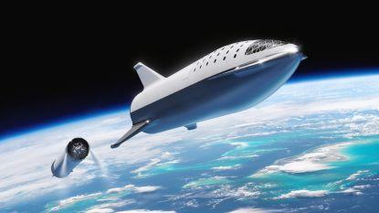 Testruimteschip van Elon Musk voor missie naar Mars krijgt vorm. Lancering voor maart of april volgend jaar. In 2024 moeten eerste mensen vertrekken
