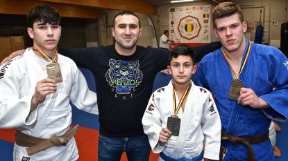 Twee gouden en zilveren medaille voor Judo Team International op BK