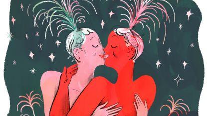 Zelfs simpele kus maakt cocktail van hormonen vrij