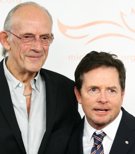Doc en Marty 33 jaar na Back to the Future weer samen