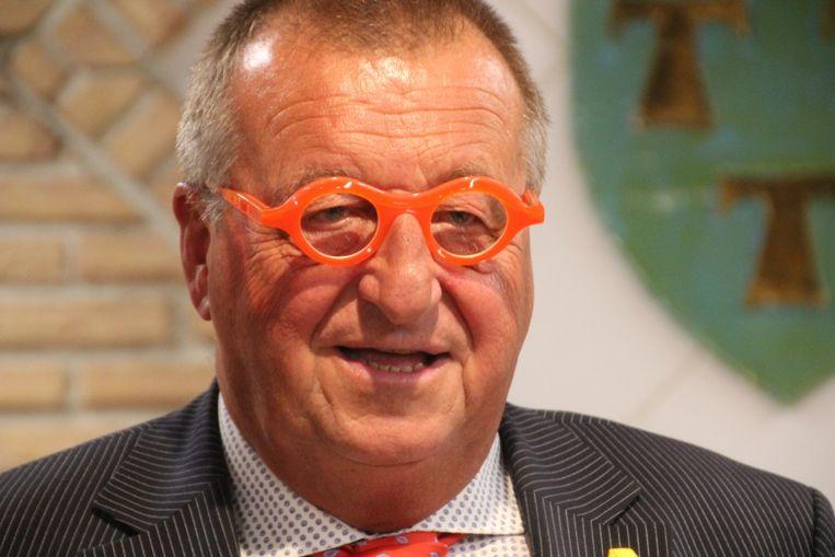 Burgemeester Roland Uyttendaele.