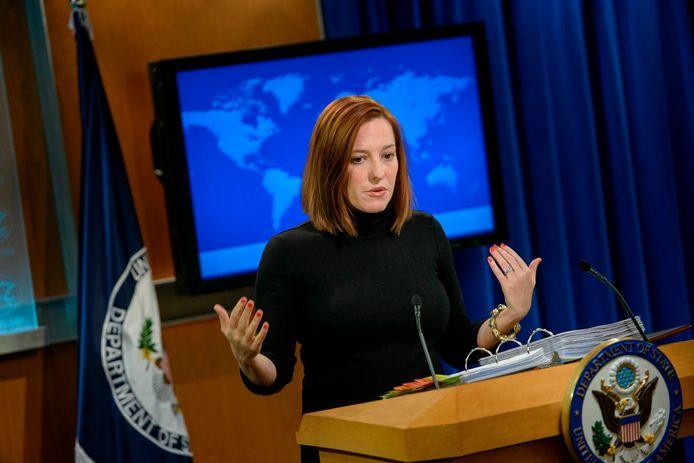Jen Psaki, een belangrijke medewerkster van het campagneteam van Biden, wordt de perschef van het Witte Huis.