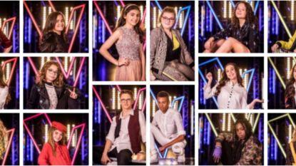 De halve finalisten zijn bekend: deze 16 stemmen strijden verder in 'The Voice Kids'