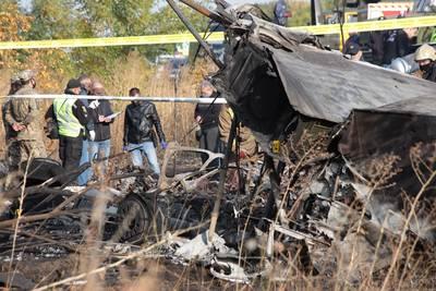 25 doden bij vliegtuigcrash in Oekraïne, twee inzittenden overleven door sprong